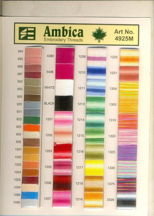 AMBICA SHADE CARD