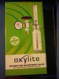 Oxygen Adjustment Valve With Rotameter