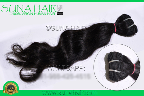 100% Silky curly virgin weft virgin natural hair