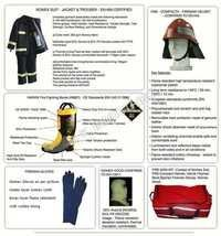 Fire suit,Helmet, Boots Fireman kit