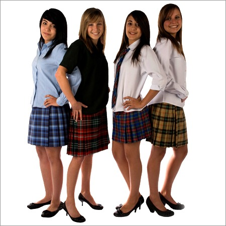 School Uniform Checks Fabric
