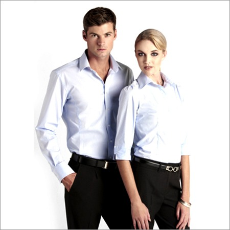 Corporate Uniform Spun Shirting Fabric