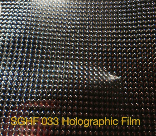 Holographic Small Lens Film 13 Micron