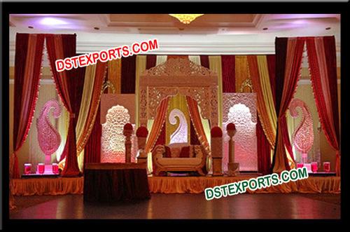 Wedding Designer Lighted Stage