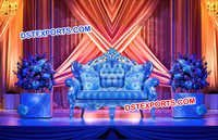 Wedding Stage Royal Love Seater