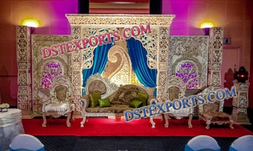 MUSLIM NIKAH STAGE DECORATION SET 6842