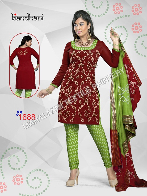 Bandhani Dress Materials In Jetpur