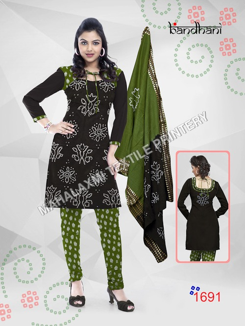 Bandhani Dress Materials