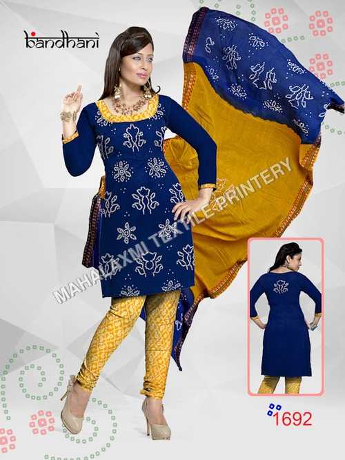 Bandhani Dress Materials