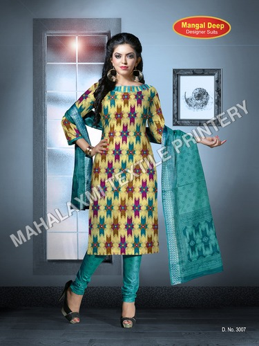Mangal Deep Cotton Designer suit