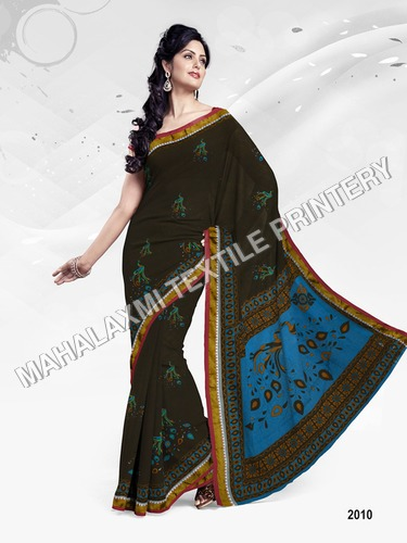 Cotton Sarees In Jetpur