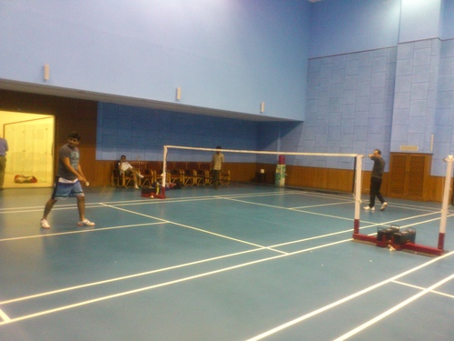 Badminton Synthetic Court