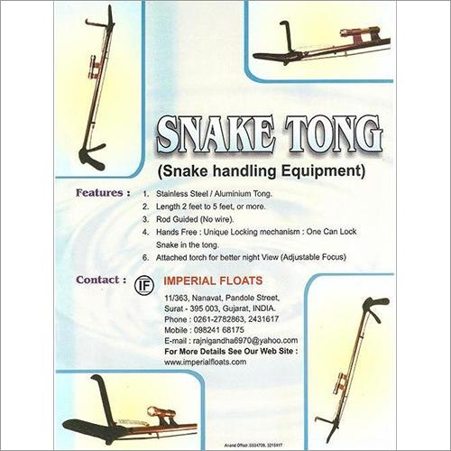 Snake Handling Tongs