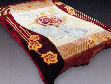Printed Embossed Blankets Age Group: Adults