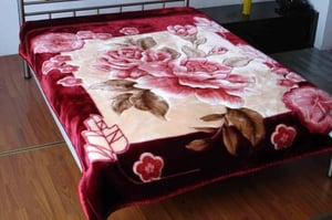 Double Bed Embossed Blankets