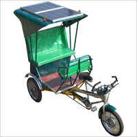 Solar Operated Rickshaw