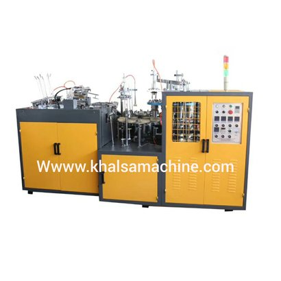 Fully Automatic High Speed Paper Cup Forming  Machine Capacity: 100 Kg/Hr