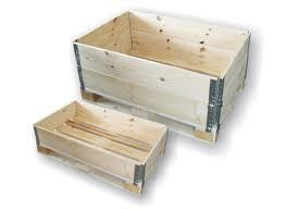 Collapsible Pallets With Hinges