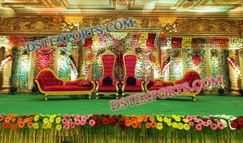 ROYAL INDIAN WEDDING STAGE FURNITURES 6843