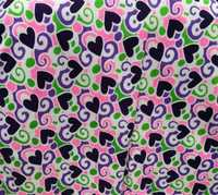 Two Thread Fleece Printed Fabric