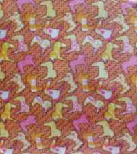 Suede Printed Fabric