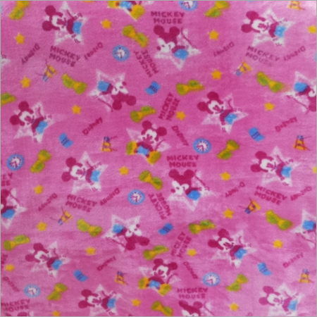 Super Soft Printed Fabric