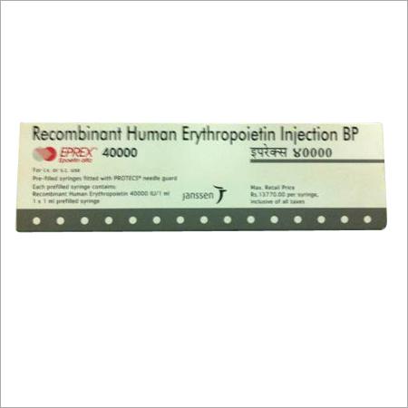 EPREX 40000 Injection