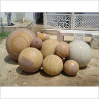 Sandstone Ball Artifects