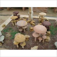Sand Stone Mushroom