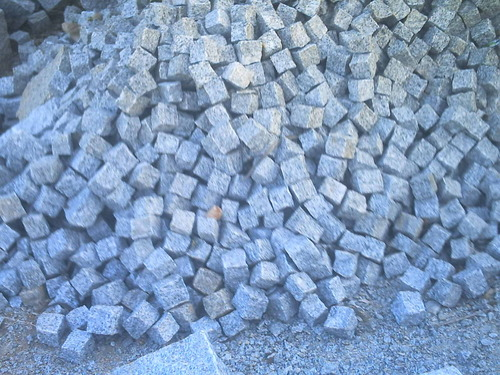 Grey Granite Cobbles