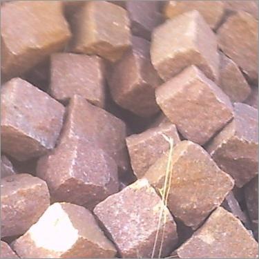 Red Granite Cobbles