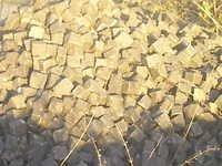 Yellow Granite Cobbles
