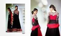 Elegant Black Anarkali Suit