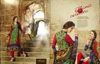 Unstitched Ladies Printed Suits