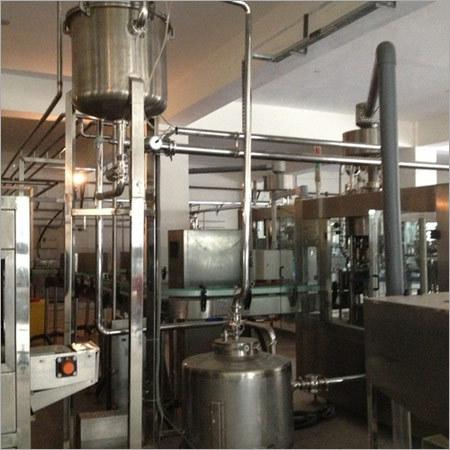 Industrial Juice Making Plant
