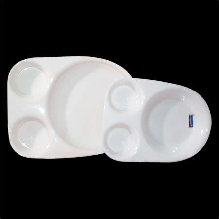 Acrylic Bhature Plate - Small & Large