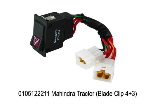 Mahindra Tractor (Blade Clip 4+3)