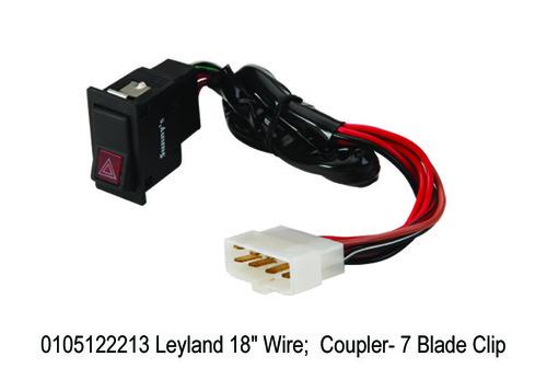 Leyland 18 Wire; Coupler- 7 Blade Clip