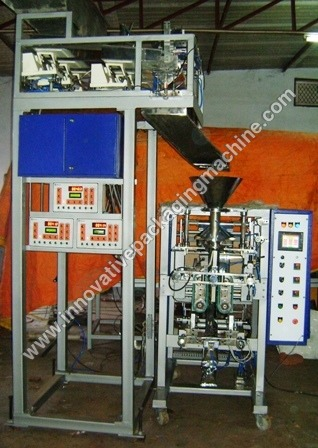 Automatic Collar Type FFS with Load Cell Weigher