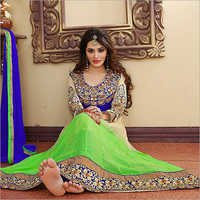Embroidered Anarkali Salwar Suit