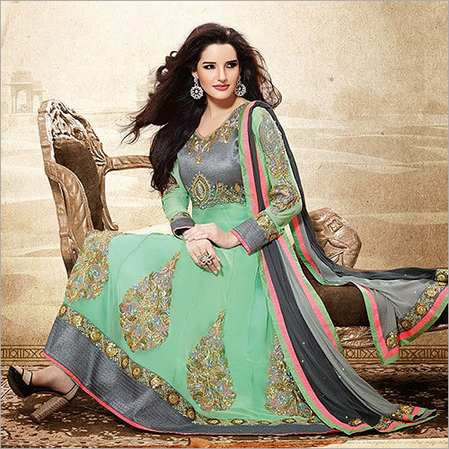 Heavy Embroidered Salwar Kameez