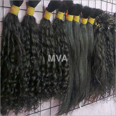 Temple Bulk Human Hair