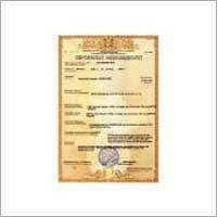 What Is The Ukrsepro Certificate Of Conformity