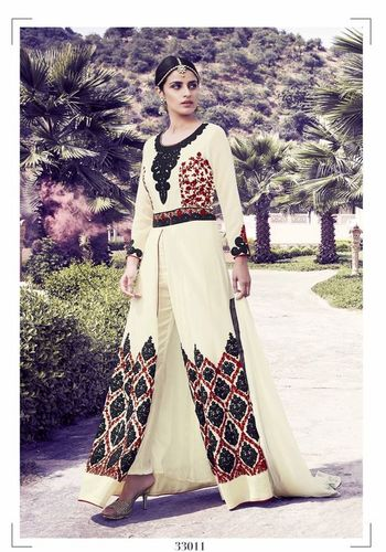 Georgette Wedding Wear Suit