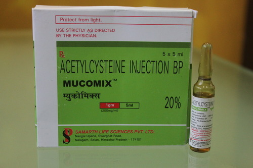 Mucomix 1 Gm Acetylcysteine Injection