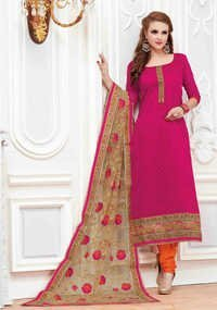 Embroidered Salwar On Banarasi