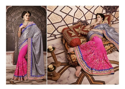 Manufacturer of Bridal Exclusive Fancy sarees