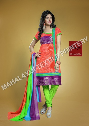 Cotton Salwar Kameez / Unstitched Dress Materials