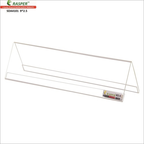 Rasper Acrylic Name Plate For Office Table