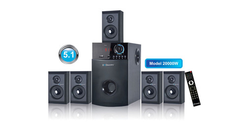 5.1 Multimedia Speakers
